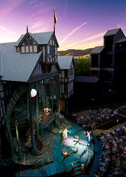 Oregon Shakespeare Festival (OSF) Elizabethan Theatre